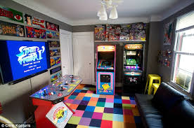 bedroom games meet the game obsessed man who spent over 32 000 turning his