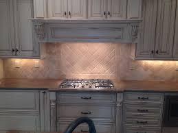 kitchen tumbled marble backsplashes in the kitchen wearefound home