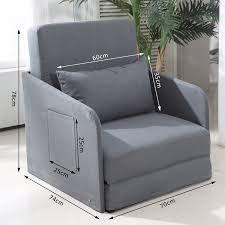 Armchair Sofa Bed Single Sofa Bed Home Single Futon Metal Sofa Bed With Mattress