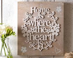 Home Is Where The Heart Is Buy The Home Is Where The Heart Is Wall Plaque From K Life Your