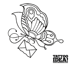 draw your own butterfly ideatattoo