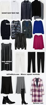 over 40 work clothing capsule creating a capsule wardrobe for winter my personal planning process