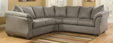 Ashley Furniture Sectional Buy Ashley Furniture 7500555 7500556 Darcy Cobblestone Sectional