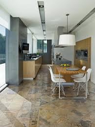 kitchen design white octagon floor tile kitchen design house