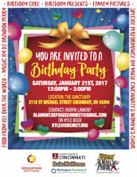 education matters you u0027re invited to a birthday party