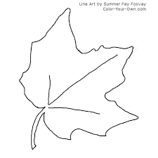 autumn leaves coloring pages 26612 bestofcoloring com