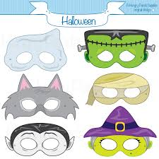 Cartoon Halloween Monsters Do The Monster Mash At Your Halloween Bash This Listing Is For 6