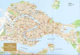 Venice Map Hotel Dalla Mora
