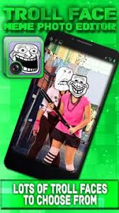 Meme Picture Editor - troll face meme photo editor apk download free entertainment app