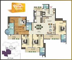 Floor Plan Flat by 4 Bhk Flats In Greater Noida West 3 Bhk And 2 Bhk Flats In