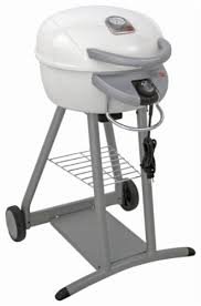 Patio Bistro Grill Char Broil Patio Bistro Electric Grill White 12601665 Best Buy