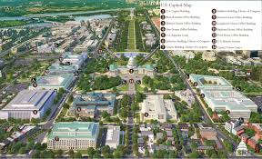 Interactive Map Of Usa by Print Friendly Map Of Capitol Hill Architect Of The Capitol