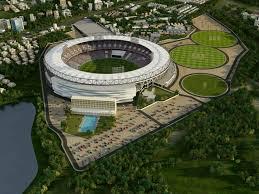 work begins on world u0027s biggest cricket stadium in ahmedabad u2013 ndtv