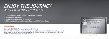 American Express Business Card Benefits American Express Business Platinum 100 000 Point Offer Doctor Of