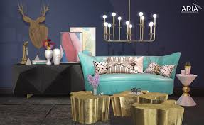 interior decor aria modern furniture and lights