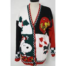 terribly tacky gallery sweater by snoopy friends