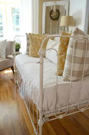 Cribs That Convert Into Beds by Vintage Crib Converted Into Couch Little Vintage Nest