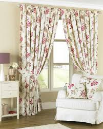 stunning shabby chic country kitchen curtains using cream pink