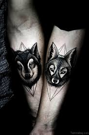 wolf tattoo behind ear 50 exclusive wolf tattoos for arm