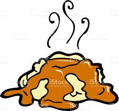 thanksgiving mashed potatoes and gravy mashed potatoes and gravy stock vector art 124474304 istock