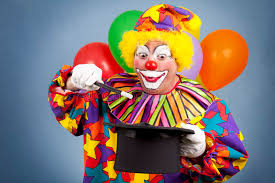 clown show for birthday party birthday clown magic show stock image image of performer 16286417