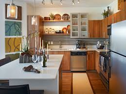 interesting kitchen with breakfast table combined granite table