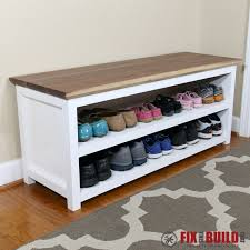 bedroom impressive ana white entryway shoe bench diy projects