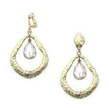 earrings clip on clip on earrings shop lulu