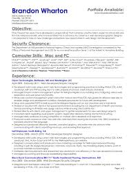 skill set in resume examples cover letter objective for resume server objective on a resume for cover letter resume template objective for resume restaurant photo food of developed a unique skill set