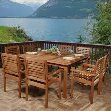 Outdoor Patio Dining Sets With Umbrella - dining tables 9 piece patio dining set with umbrella round patio