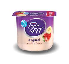 dannon light and fit nutrition nonfat yogurt light fit