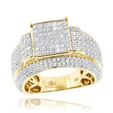 princess cut gold engagement rings cut engagement rings item 14k gold 2 5ct