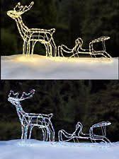 outdoor reindeer outdoor decorations ebay