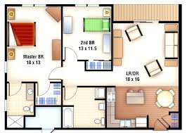 House Plans With Apartment F 563 4 Plex Building Plans Bedroom House Row Planshouse With