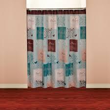 Hookless Shower Curtain Walmart Butterfly Shower Curtain
