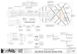 00 28vs 12 fret guitar plans electronic version 00 28vs 12 fret