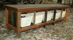 Bench With Shoe Storage Plans - entryway bench with shoe storage plans foyer benches with storage
