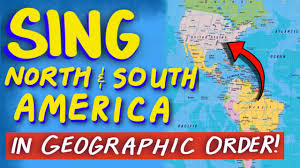 North And South America Map by North And South America Countries Song From