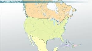 Physical Features Of United States Map by Locations Of Major Features In North America Video U0026 Lesson