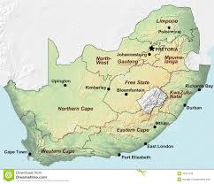 Pretoria South Africa Map by Map Of South Africa Royalty Free Stock Photo Image 8967875