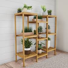 what of wood is best for shelves nature multi level plant stand freestanding 9 shelf bamboo storage rack indoor outdoor shelving unit wood