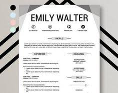 Resume Template On Word Masculine Bold Resume Template Instant Download For Use With