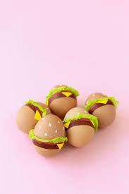 how to decorate easter eggs diy burger easter eggs studio diy