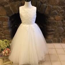 christie helene communion dress md042 diamond white christie helene communion dress
