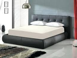 chambre avec lit noir lit rangement coffre loodo co