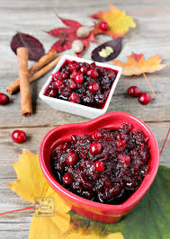 thanksgiving cranberry spiced cranberry sauce manila spoon