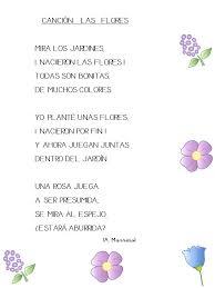 imagenes con flores azules dia de la maestra maestra de infantil canción las flores