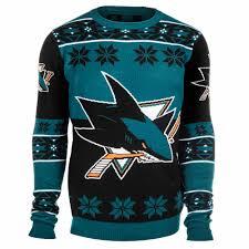 jose sharks big logo nhl ugly sweater