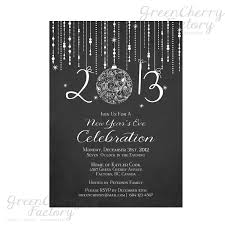 invitations for new years eve party printable chalkboard new year invitation elegant new year u0027s eve
