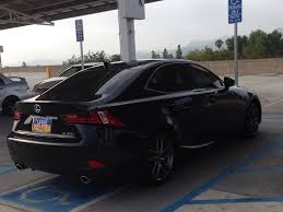 lexus 2014 black my is 250fsport black on red with tinted windows page 2